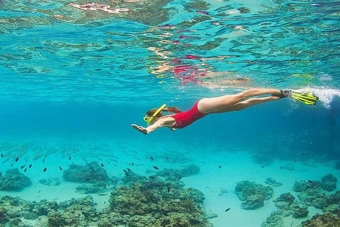 Blue Lagoon Bali Snorkeling Include Junggle Swing
