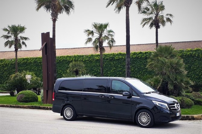 Private transfer from Palermo airport to Hotel Porta Felice or vice versa