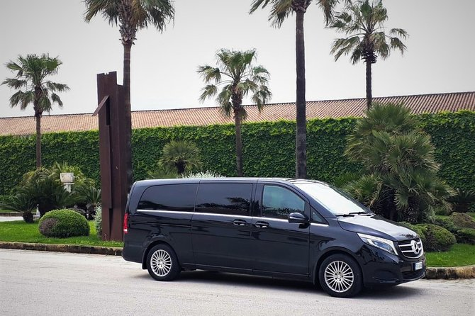 Private transfer from Palermo airport to Hotel Palazzo Sitano or vice versa