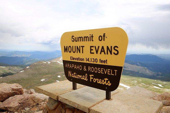 Mount Evans & Red Rocks Tour from Denver