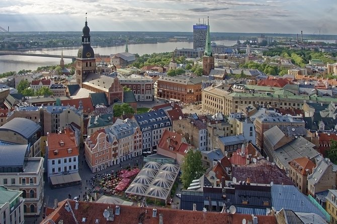 Riga Old Town and Central Market