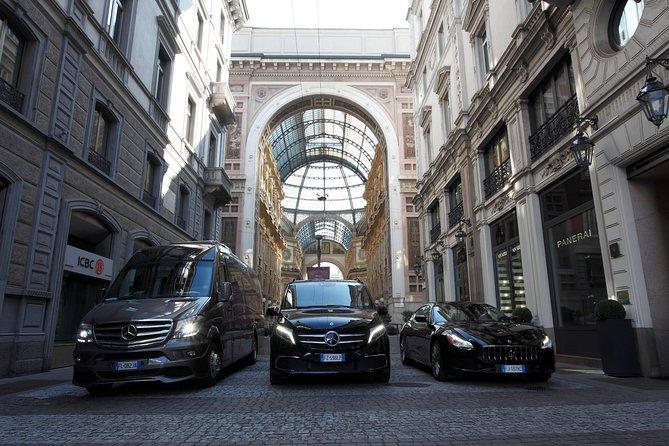 BERGAMO ORIO AL SERIO - Milano airport transfer with private Luxury Van