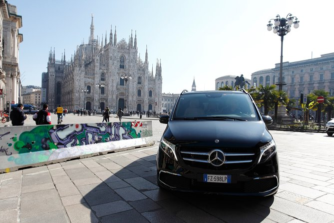 MALPENSA - MILANO airport transfer with private Luxury Van