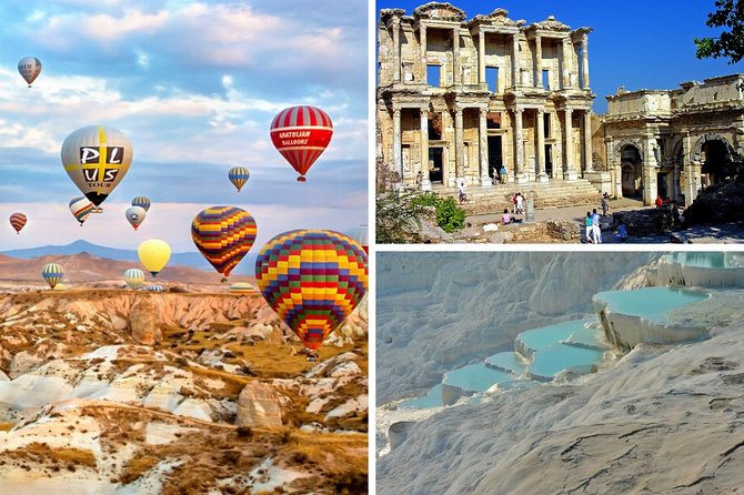 4 Days Turkey Tour Cappadocia, Ephesus, Pamukkale Tour