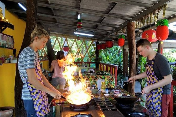The Best Cooking Class at Thai Charm Cooking School in Krabi