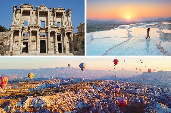 4 Days Turkey Tour: Cappadocia Tour, Ephesus Tour, Pamukkale Tour