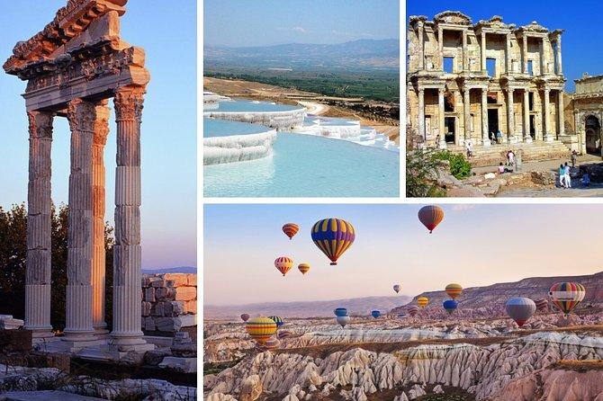 6 Days Turkey Tour Cappadocia, Ephesus, Pamukkale, Gallipoli, Troy Tour