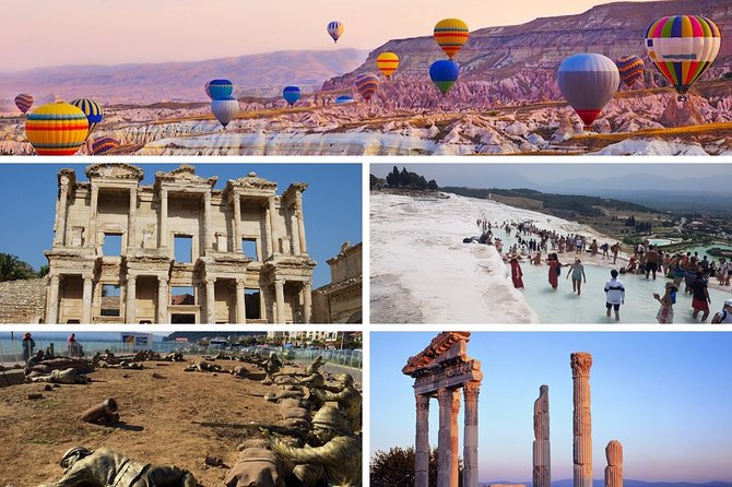 6 Days Turkey Tour - Gallipoli, Troy, Ephesus, Pamukkale & Cappadocia Trip