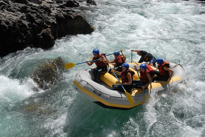 Rafting Manso River To The Border from Bariloche