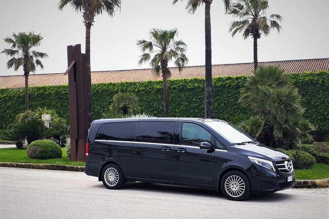 Private transfer from Palermo airport to Hotel Federico II Central Palace