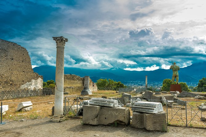 Semi Private tour from Rome to Pompeii