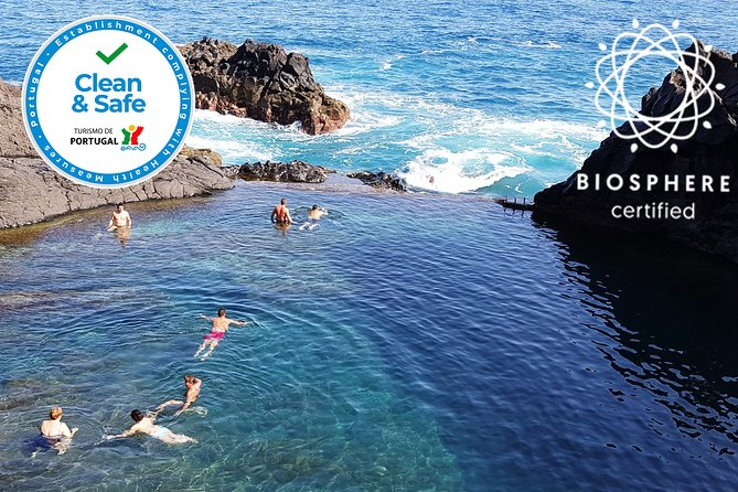 Porto Moniz Volcanic Pools, Skywalk and more...Full day Tour in Open Roof 4x4