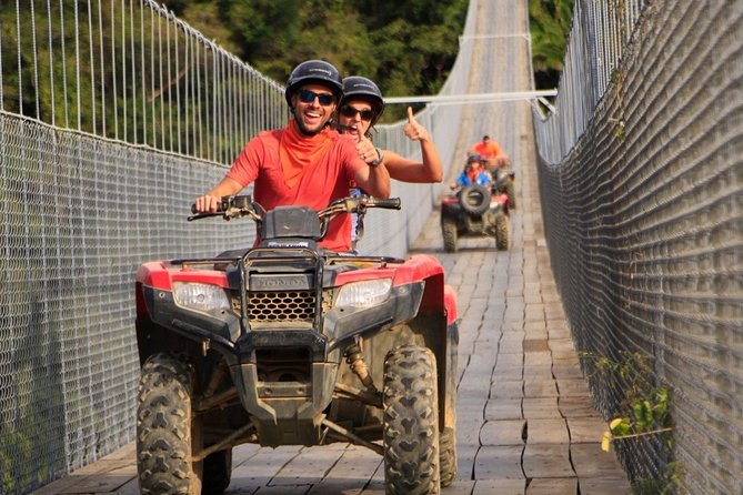 ATV Off Road with Jorullo Bridge