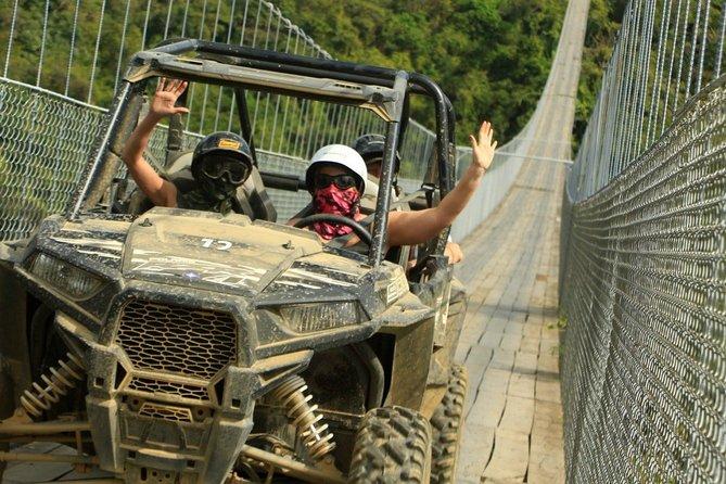RZR Tour with Jorullo Bridge