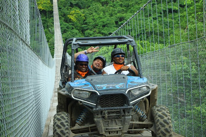 Combo Jorullo Bridge, RZR Tour & Zipline