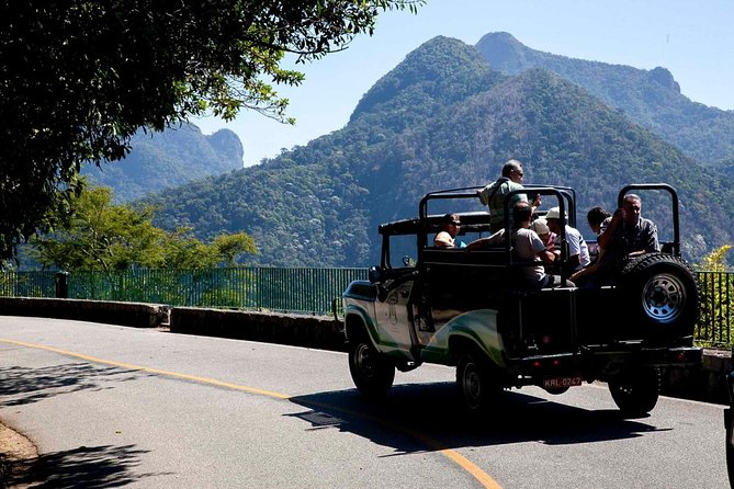 JeepTour through Tijuca Forest and Botanical Gardens
