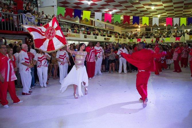 Rehearsal at the Salgueiro Samba School