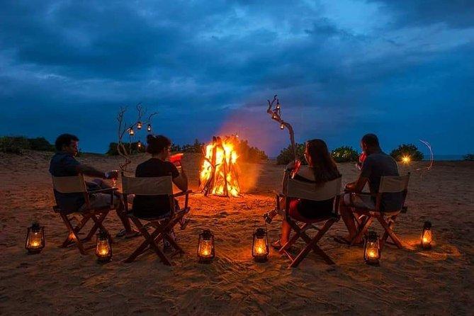 Romantic Lake BBQ Dinner with Sigiriya View