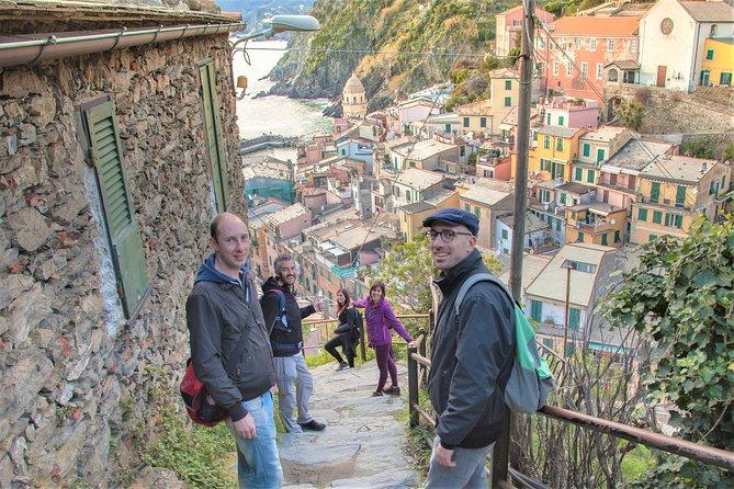 Viagem Privada de um dia a Cinque Terre saindo de Gênova com Motorista Local e Pick-Up