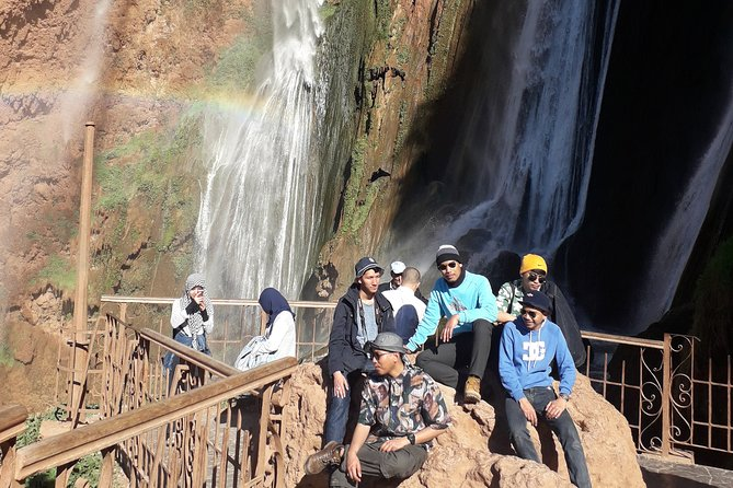 From Marrakech to Ouzoud Waterfalls Private Tour