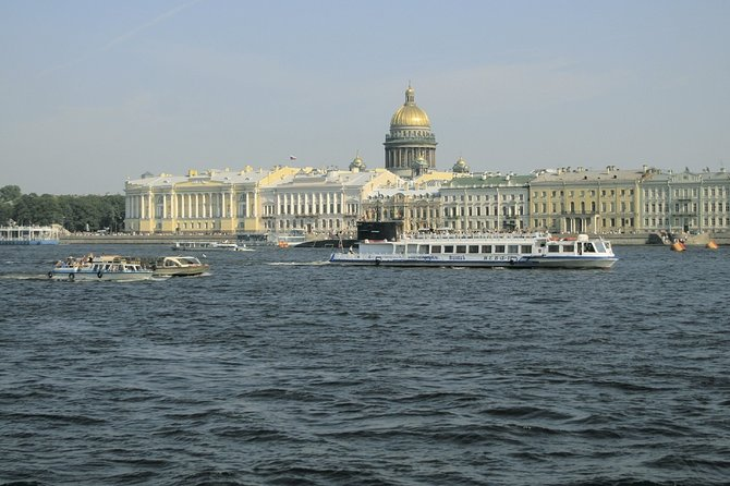 St Petersburg private boat tour. Neva river & canals