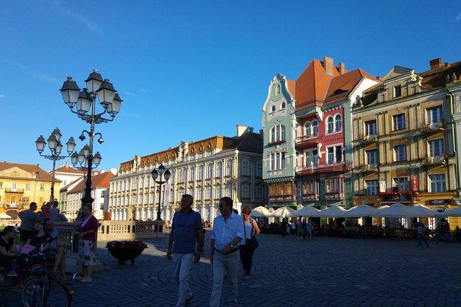 Timișoara - walking tour in Europe's Capital of Culture 2023