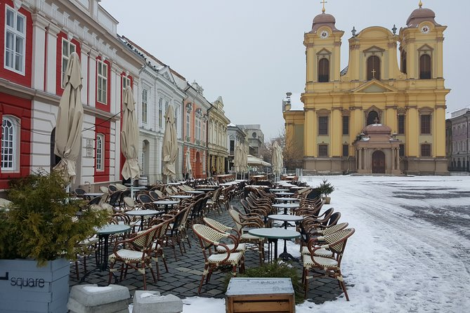 The terraces in Timișoara are opened even in winter