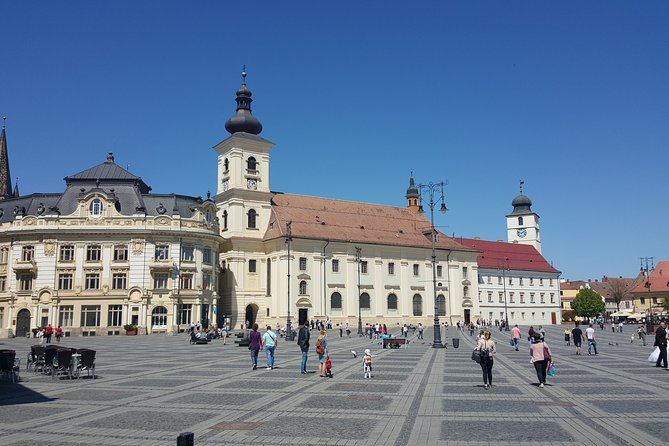 Day trip to Sibiu (guided tour in German)