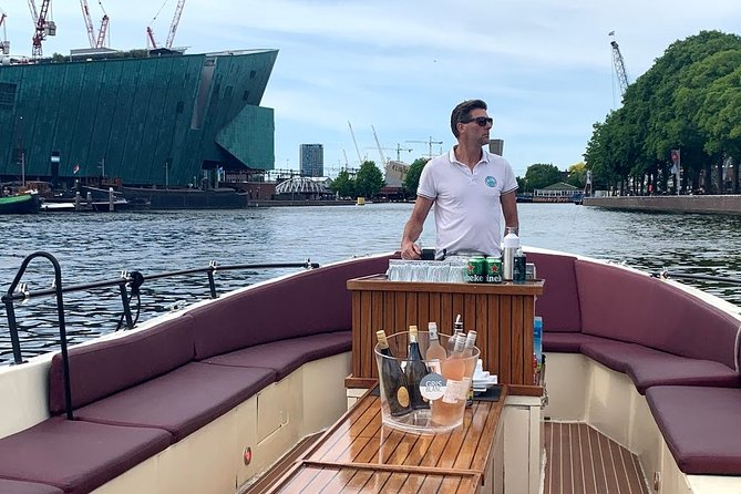 The best boat trip through the Amsterdam canals