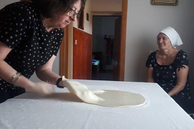 Balkan pita making culinary experience