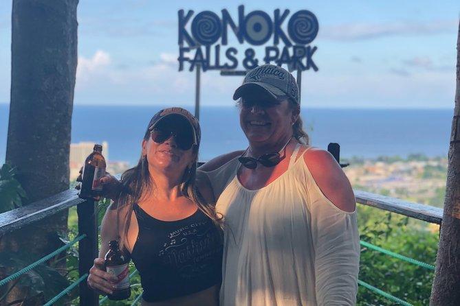 Konoko Falls & Bamboo Beach from Ocho Rios Private Tour