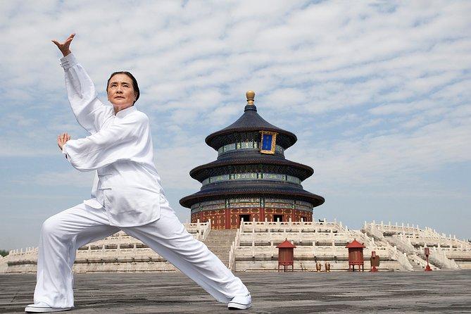 TaiQi Lesson in Temple of Heaven, Tiananmen Square & Forbidden City Private Tour