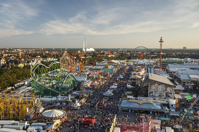 Free Beer and Lunch: Small-Group (9Pax) Tour of Munich City and Oktoberfest