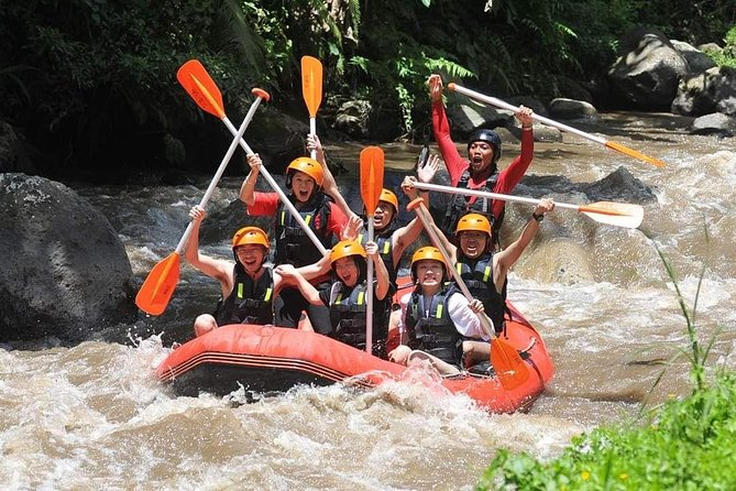 Bali Water Rafting and Quad Bike Experience