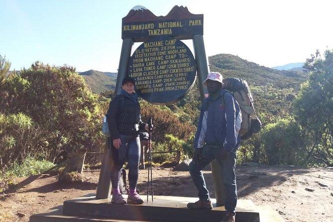 6 Days kilimanjaro Hiking through Machame Route with Burigi Chato Safaris Co LTD
