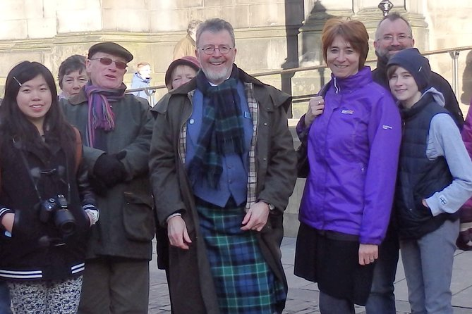 Edinburgh half day/full day tour with Alasdair