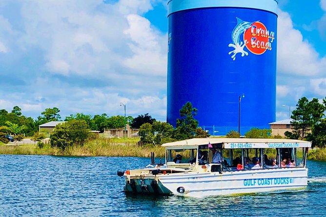 Gulf Coast Ducks Land & Water Splash Tour