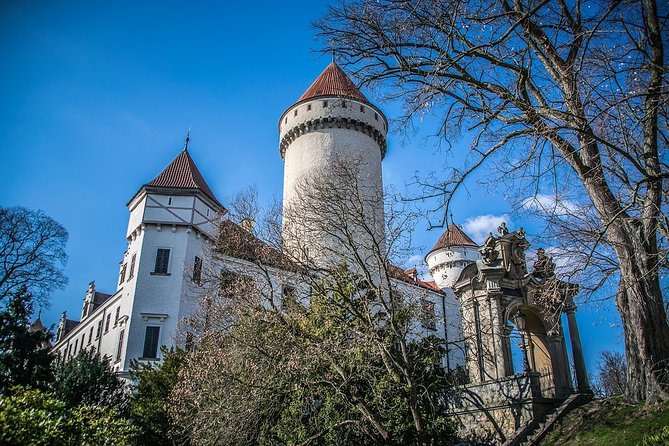 Private Day Excursion to Karlstejn Castle & Konopiste Castle with Local Guide