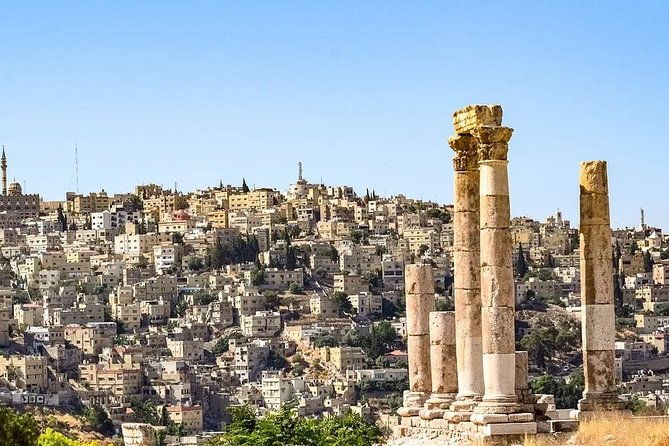 4 hours City Tour in Amman with Hotel pick up and drop off