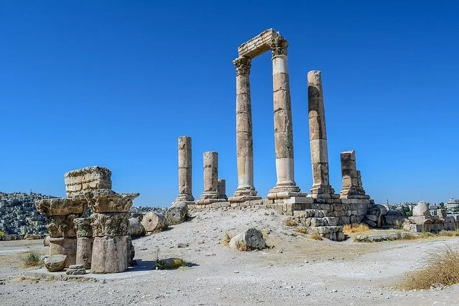 8 hours City Tour in Amman with Hotel pick up and drop off