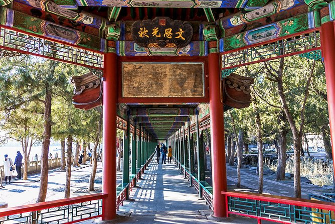 3 Hours Small Group Tour to Summer Palace with Boat Ride