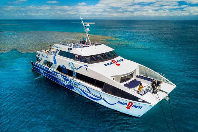 AquaQuest Great Barrier Reef Diving and Snorkeling Cruise from Cairns