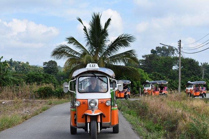 Full Day Chauffeur Driven Tuk Tuk Adventure in Chiang Mai including rafting