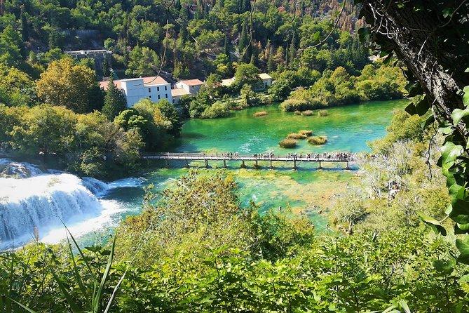Private Krka waterfalls tour by van