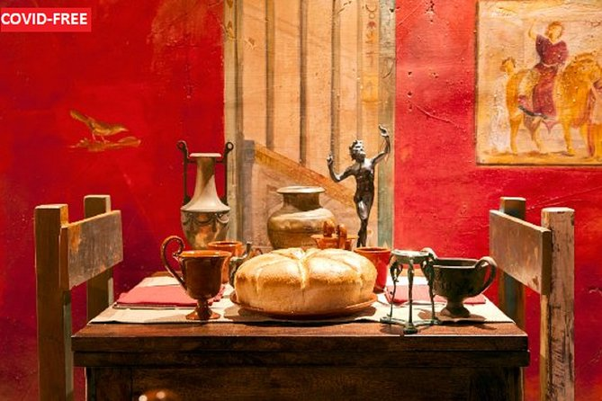 Ancient Pompeii with Walking Tour and Gastronomic Journey