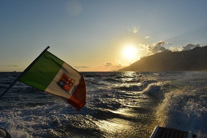Sunset tour on the Amalfi Coast