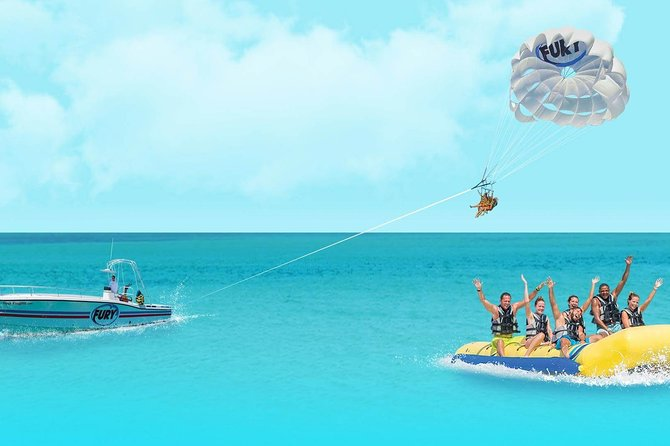Double Play: Banana Boat & Parasailing