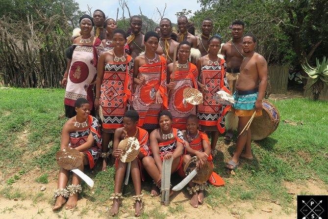 Swazi dancers - Mantenga cultural village - Swaziland - eSwatini