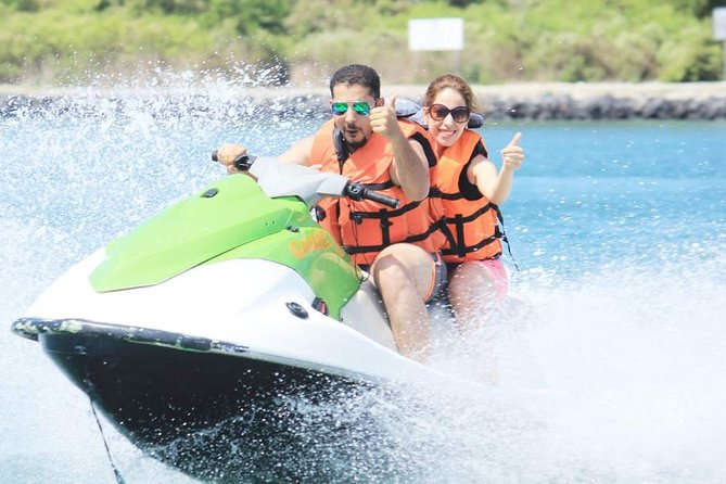 Actively enjoy marine sports! 4 types of marine sports to choose from (parasailing, jet ski, fly fish, banana boat, etc.) / Round-trip hotel transfer included