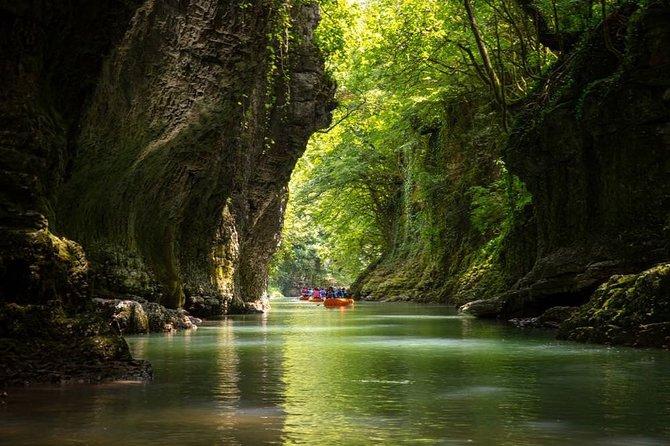 Martvili Canyon & Prometheus Caves